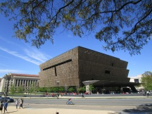 National Museum of African American History & Culture, from near the Washington Monument