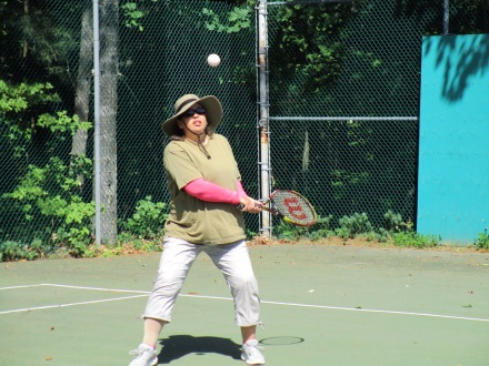 Jill tennis 2018 cottage