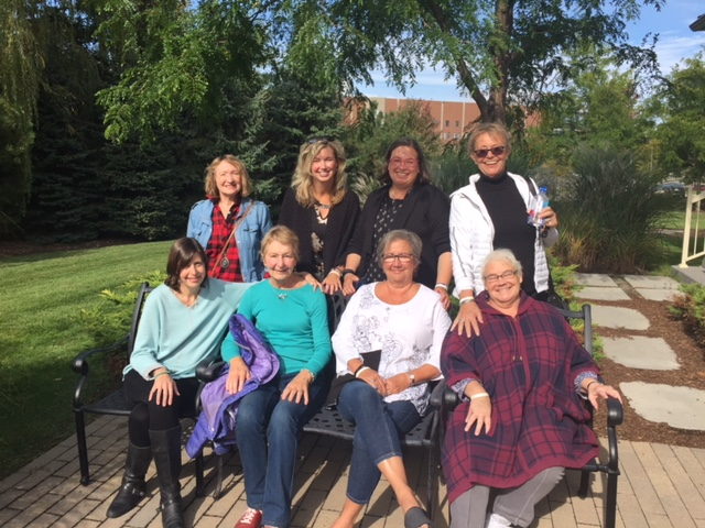 Ottawa Lung Cancer Support Group Oct 2018 Cecilia Kim Jill Mariel Andrea Peggy Laurie Jan taken by Diane
